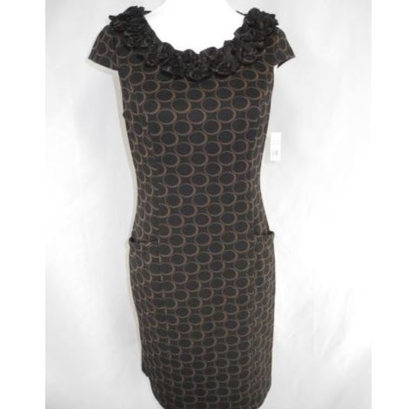 343c66d99cf8 Sophia Christina 10 Cap Sleeve Knee Length Dress